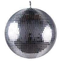 AVE LMB12 12-Inch 30cm Mirrorball with Safety Loop Front View