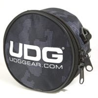 U9960CG UDG Camo Grey Headphone Bag angle