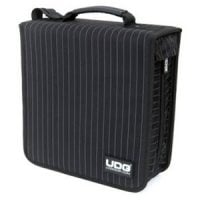U9978BG UDG Black With Pin Stripe CD Wallet Front