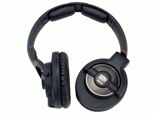 KNS8400 KRK Studio Headphones Angle View