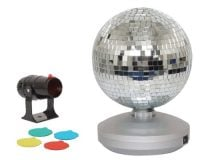 Brightlight 8'' Mirror Disco Ball Kit