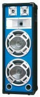 "PLB212 Skytec 12"" Speaker Tower Front Angle View"