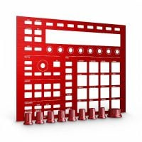 CUSTOMKIT-RED Maschine Mk2 Native Instruments Custom Kit - Red Dragon Full View