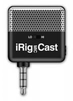 iRig-Cast IK Multimedia Portable Microphone Recorder for iDevices and Android top view