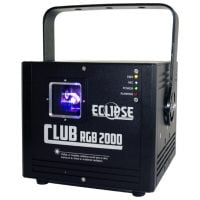 ECLIPSE CLUB AVE 2000 MW RGB FULL COLOR LASER front angle
