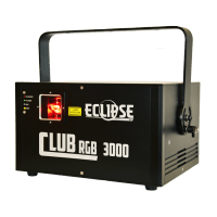 Eclipse Club 3000 AVE RGB 3000 mW Full Color Laser Light front angle
