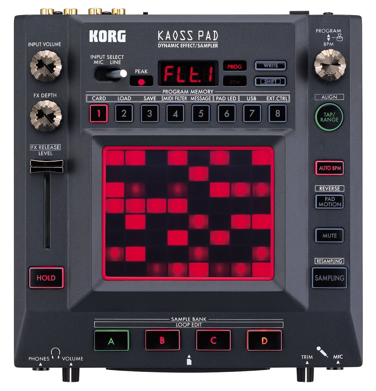 korg kaosspad 3 plus dj effects unit dj city. Black Bedroom Furniture Sets. Home Design Ideas