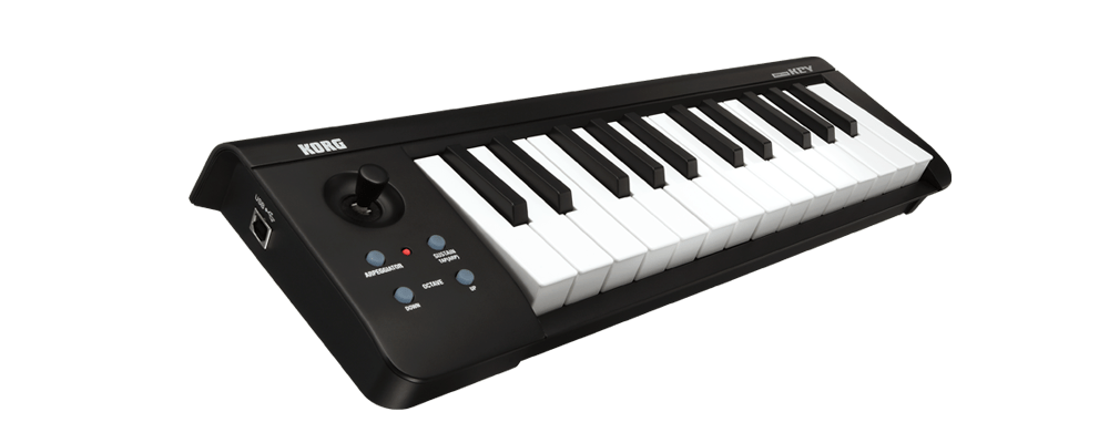 korg microkey midi keyboard 25 key portable controller dj city. Black Bedroom Furniture Sets. Home Design Ideas
