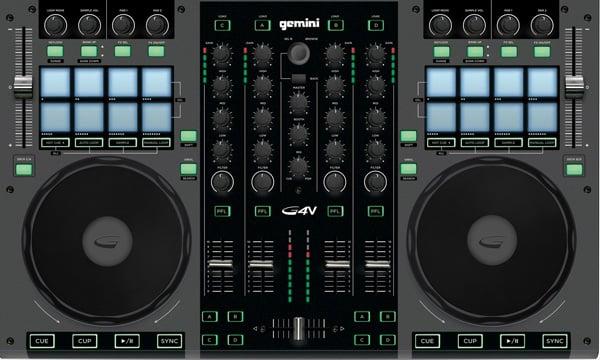 Gemini G4V DJ Controller 4 Channel
