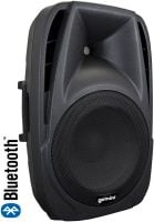 ES-15BLU Gemini Active 15 Inch Speaker 400watt with Media Player wireless bluetooth front right angle view