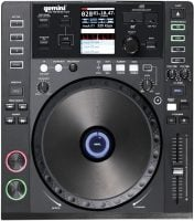 Gemini CDJ-700 DJ CD Digital Media Player and Midi Controller top view fuctions