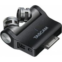 IM-2X Tascam X-Y iOS Stereo Condenser Side Angle View