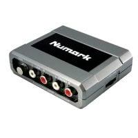 Numark Stereo iO Soundcard angle