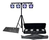 Chauvet DJ 4Bar LED Parcan Pack with Foot Controller Kit View