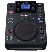 Gemini CDJ-300 DJ CD Player with USB top angle Display