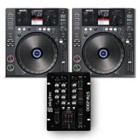 PK-GEMCDJ700 Gemini DJ Players and Skytec Mixer _package top