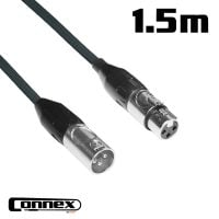 Connex XMXF-1B XLR male - XLR female 1.5m BASIC