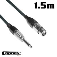 Connex XFJM-1B XLR female - JACK male 1.5m BASIC