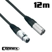 Connex XMXF-12 XLR male - XLR female 12m PRO