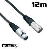 Connex XMXF-12 XLR male - XLR female 12m PRO