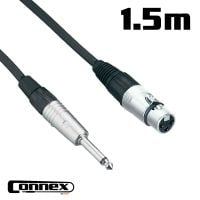 Connex XFJM-1 XLR female - JACK male 1.5m PRO