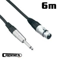 Connex XFJM-6 XLR female - JACK male 6m PRO