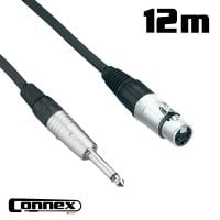Connex XFJM-12 XLR female - JACK male 12m PRO