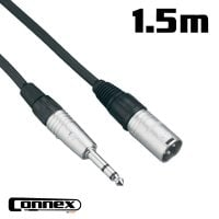 Connex XMJS-1 XLR male - JACK male 1.5m BALANCED