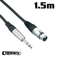 XMJS-1 XLR female - JACK male 1.5m BALANCED