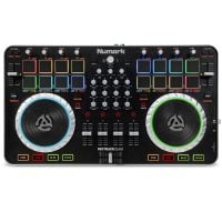 Numark Mixtrack Quad 4 Top View