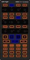 CMD DV1 Behringer DJ-DVS MIDI Controller top