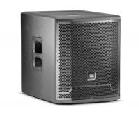 PRX715XLF JBL Professional 15 Inch Active Subwoofer 1500watt front angle view