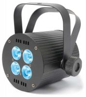 QUAD4x8 Beamz LED RGBW Parcan Front View