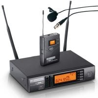 WS1000G2BPL LD Systems Wireless Lapel Microphone System Display