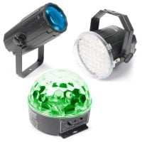 Light Package-1 Beamz LED DJ LED Lighting Effect Pack Display