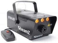 S700-LED Beamz 700W Smoke Machine w/ LED Flame Effect Front View