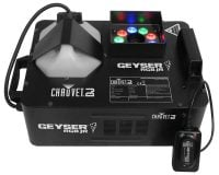 Chauvet DJ Geyser-JR 690W RGB Coloured Fog Machine Display