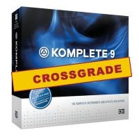 Komplete 9 NI Prodcution Software CROSSGRADE for Maschine Retail Box