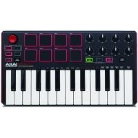 Akai MPK Mini MK2 Portable MIDI Keyboard with 8 MPC Style Pads Top View