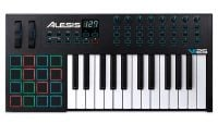VI25 Alesis 25-key MIDI Keyboard with 16 Trigger Pads top view