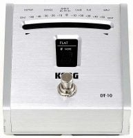DT10 Korg Chromatic Pedal Tuner front view