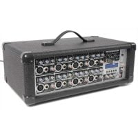 PDM-C808A Power Dynamic 8-Channel Power Mixer 800W Display