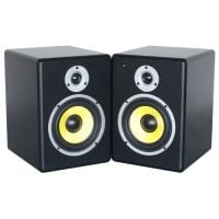 PDSM6 Power Dynamics Active 6-Inch Studio Monitor Pair Angle View