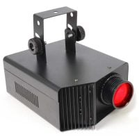 MultiGobo Beamz LED DJ Effect light Front View