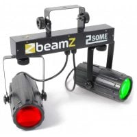 2-Some Beamz LED DJ Effect Light Duo Front View