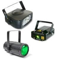 Light Package 4 Beamz LED DJ LED Lighting Effect PackDisplay