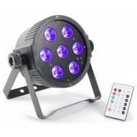 Flatpar-7x18 Beamz LED Hex Color Parcan Front Display