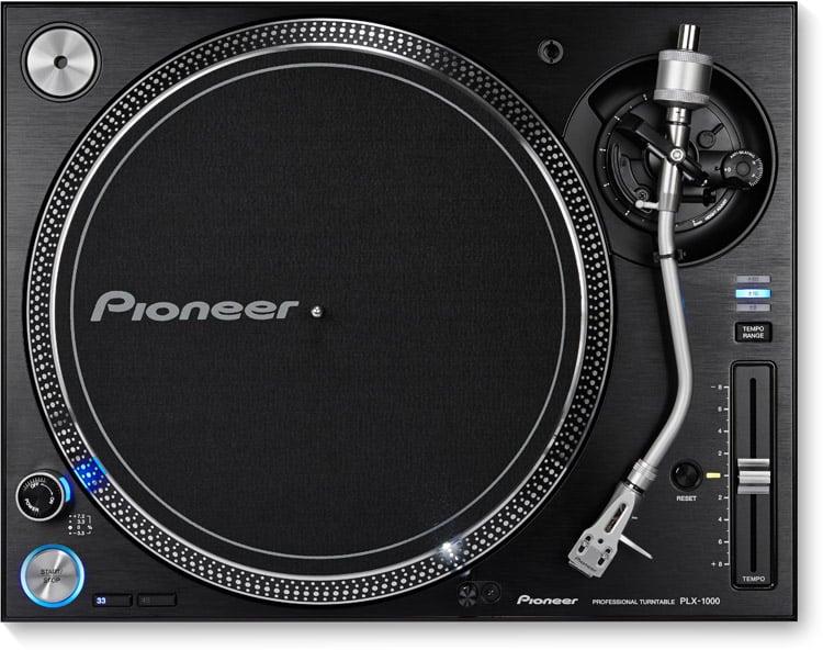 Pioneer PLX-1000 Turntable_top