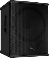 B1800HP Behringer 18-Inch Performance Sub_side L