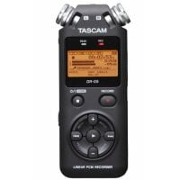Dr-05mkII Tascam Handheld Recorder front